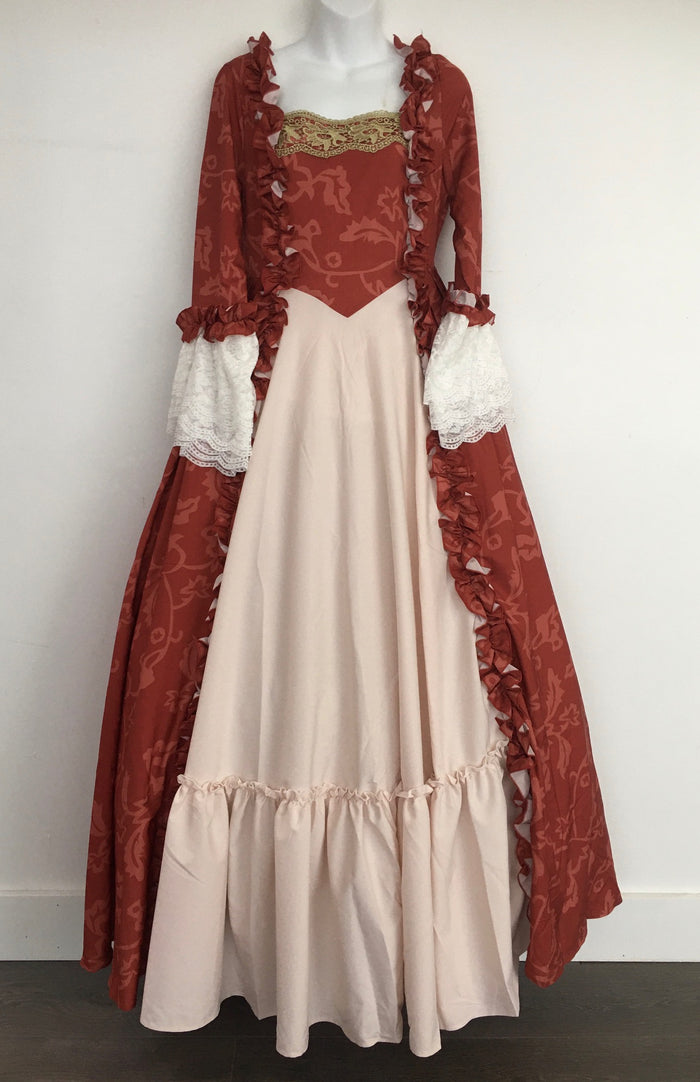 COSTUME RENTAL - A13D Marie Antoiniette  - Red