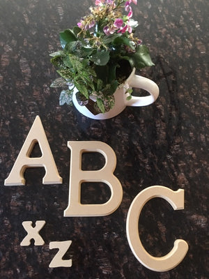 Novelties: Alphabet Wooden Letters
