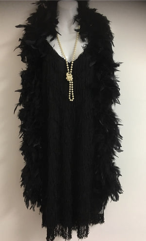 COSTUME RENTAL - J12  1920's Flapper (fringed)