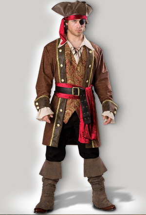 COSTUME RENTAL - G9C Pirate, Bucaneer