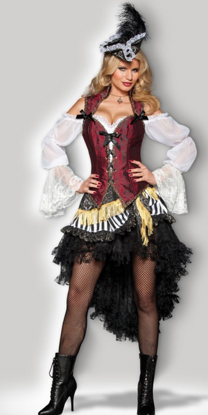 COSTUME RENTAL - G9A Pirate Lady