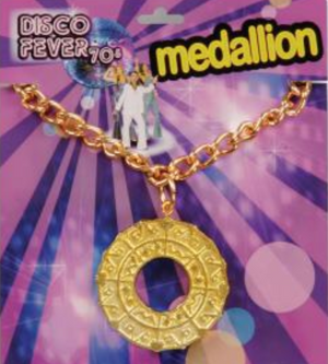 ACCESS: Necolace, Disco Medallion