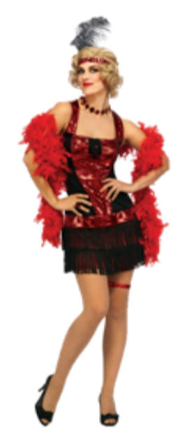 ADULT COSTUME: Speakeasy Flapper