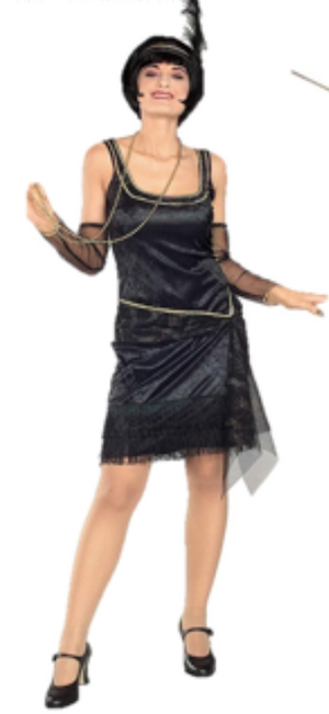 ADULT COSTUME: Speak Easy Flapper