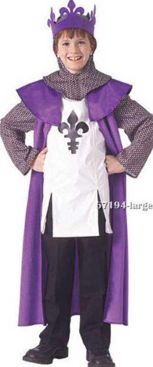 KIDS COSTUME: Renaissance King