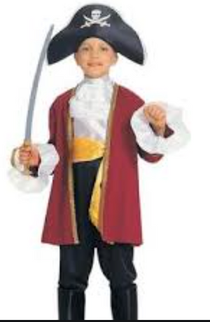 KIDS COSTUME:  Captain Courage