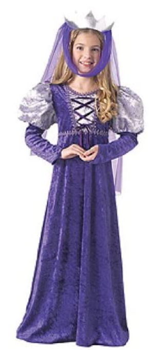 KIDS COSTUME:  Renaissance Queen