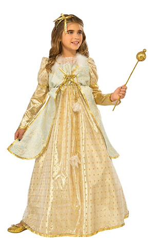 KIDS COSTUME:  Golden Princess