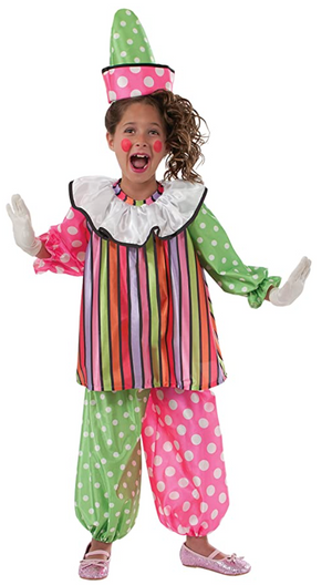 KIDS COSTUME:  Giggles the Clown