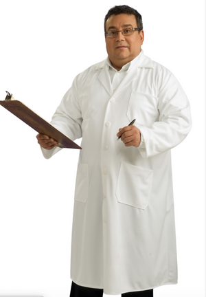 ADULT COSTUME: Lab Coat Plus size