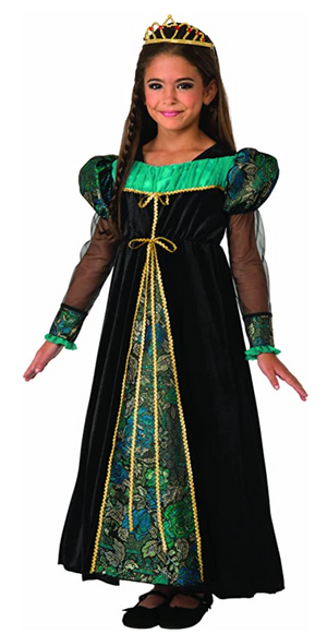KIDS COSTUME:  Camelot Princess