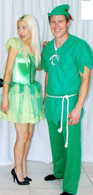 COSTUME RENTAL - D7 Peter Pan