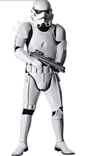 COSTUME RENTAL - E93d Storm Trooper Deluxe