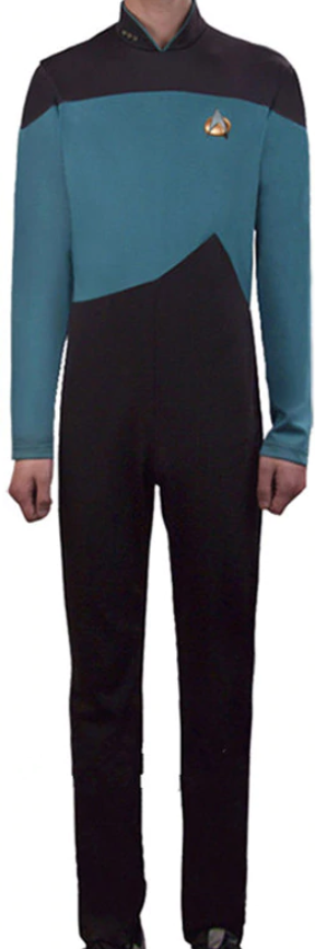 COSTUME RENTAL - E32 Star Trek Jumpsuit(green)