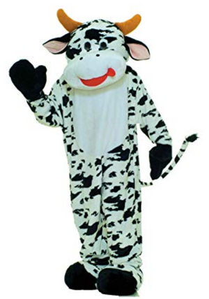 COSTUME RENTAL - R154 Cow 4 pieces