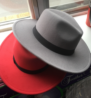 COSTUME RENTAL - Z26 Grey Godfather Hat