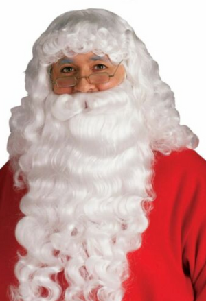 WIG: XMAS - Santa Long Wig & Beard Set