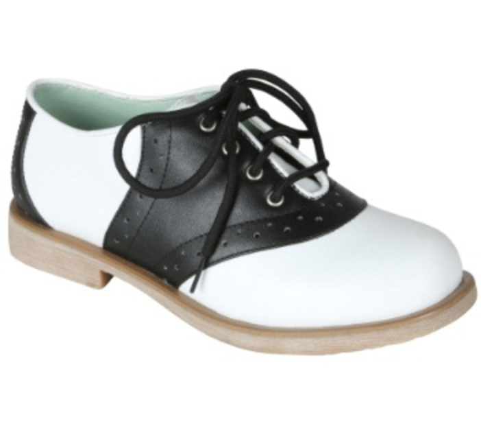 COSTUME RENTAL - Z45 Black and White Saddle Shoes