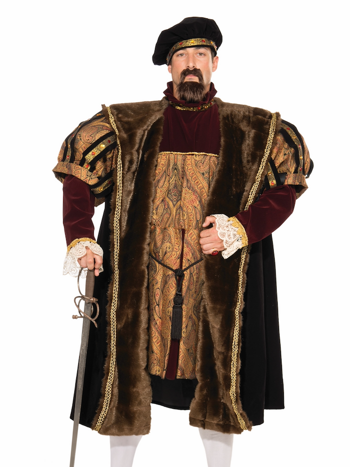 COSTUME RENTAL - A1 King Henry the 8th