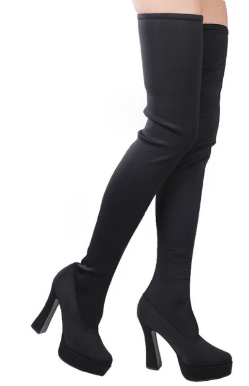COSTUME RENTAL - Z57  Thigh High Boots