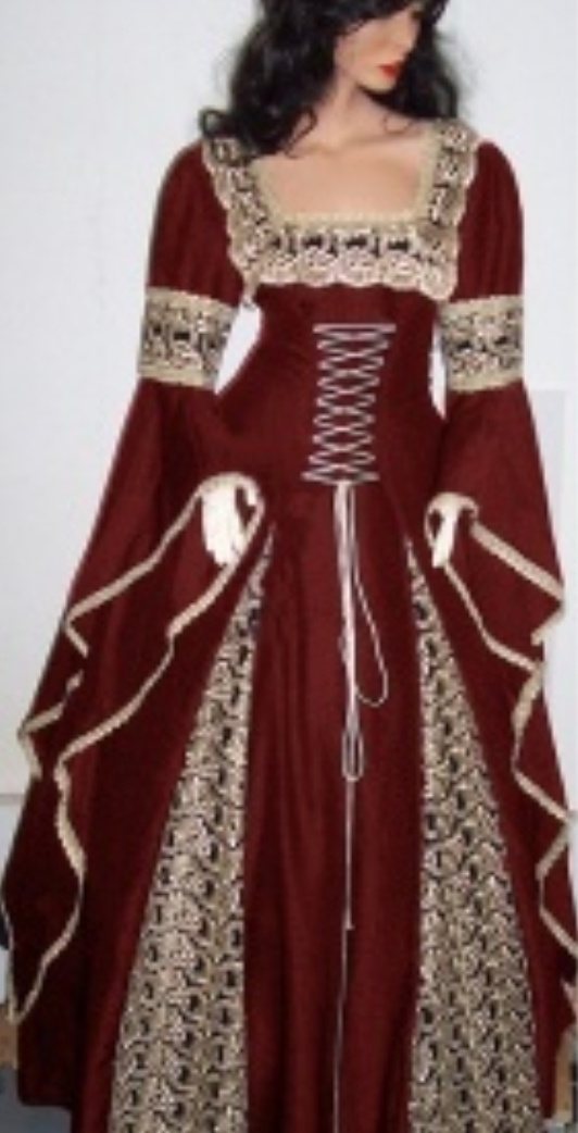 COSTUME RENTAL - A19A Lady Morgana