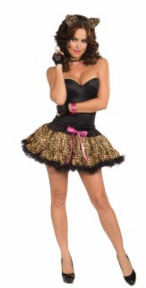ACCESS:  Leopard Tutu and Headband Set