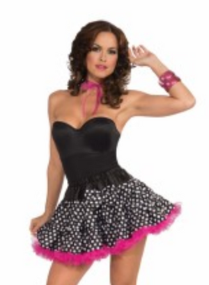 ACCESS:  Black and White Polka Dot Tutu