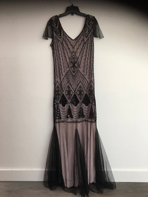 COSTUME RENTAL - J9   1920's Great Gatsby Gown