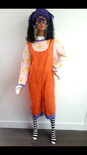 COSTUME RENTAL - E66b Lunette the clown...