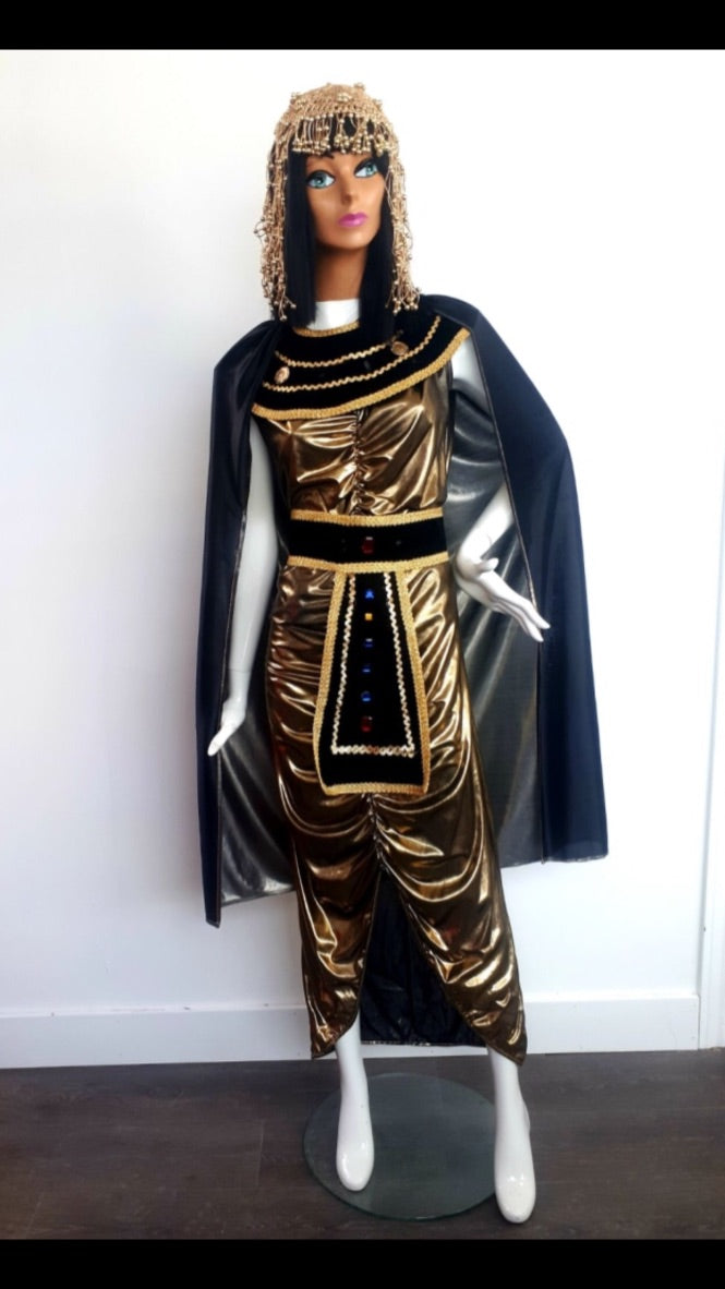 COSTUME RENTAL - F1 Cleopatra (gold with gold cape)