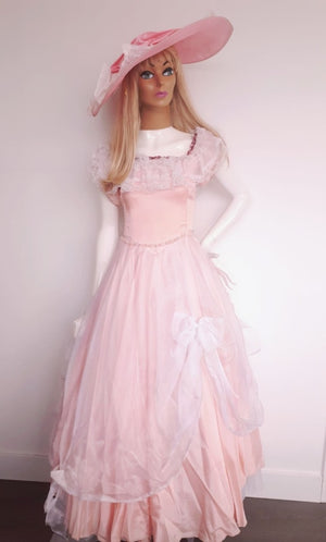 COSTUME RENTAL - L5 Southern Belle (Pink and Lace)