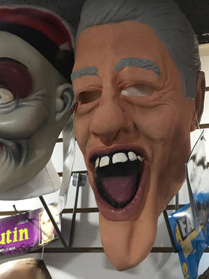 MASK:  Bill CLinton Mask