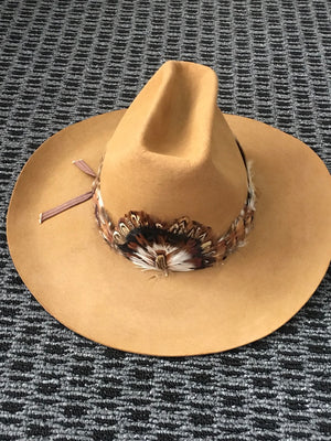 COSTUME RENTAL - Z42 Tan Cowboy Hat