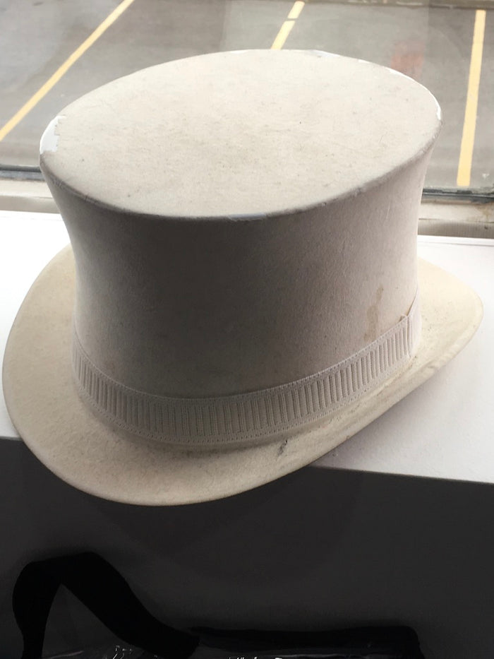 COSTUME RENTAL - Z44 White Top Hat