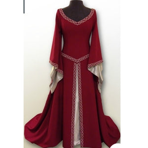 COSTUME RENTAL - A17 Red Faire Maiden