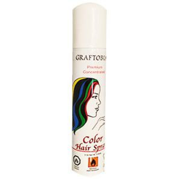 MAKEUP:  Graftobian Hair color spray, Beige 125ml