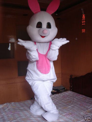 COSTUME RENTAL - R161 White Bunny Mascot