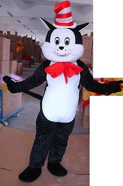 COSTUME RENTAL - R126 Cat in the Hat...5 pieces