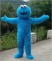COSTUME RENTAL - R102 Blue Cookie Monster 6 pieces