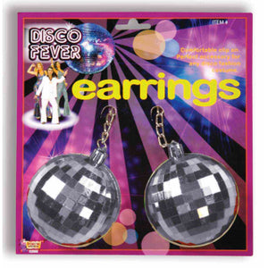 ACCESS: Earrings, Disco Ball