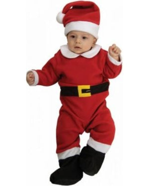 KIDS COSTUME: Xmas, Fleece Santa Baby costume