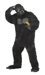 COSTUME RENTAL - R144 Gorilla - 6 pieces