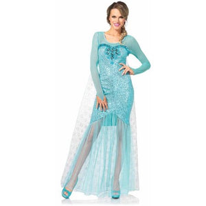ADULT COSTUME: Fantasy Snow Queen Costume
