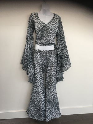 COSTUME RENTAL - X294 Animal print outfit
