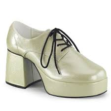 SHOES: Platform Shoes- Pearl Gold