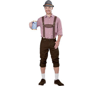 HAT:  Lederhosen Kit - Hat & Suspenders
