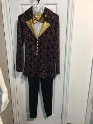 COSTUME RENTAL - O3O - O34 Whimsical Willy Wonka Kids