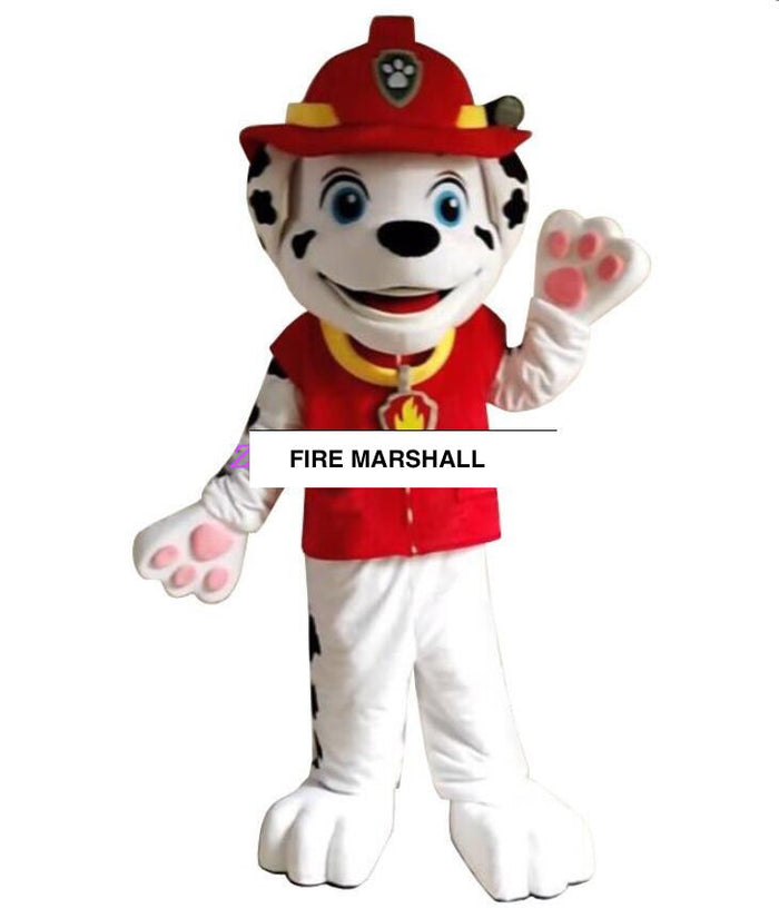 COSTUME RENTAL - R104 FIre Marshall...7 pieces