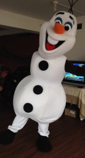 COSTUME RENTAL - R114 SNOWMAN Olaf - 5 pieces