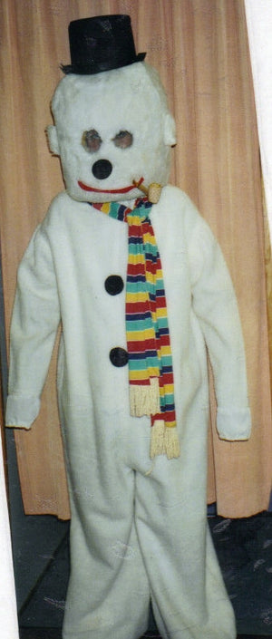 COSTUME RENTAL - R147  Snowman 5 pieces